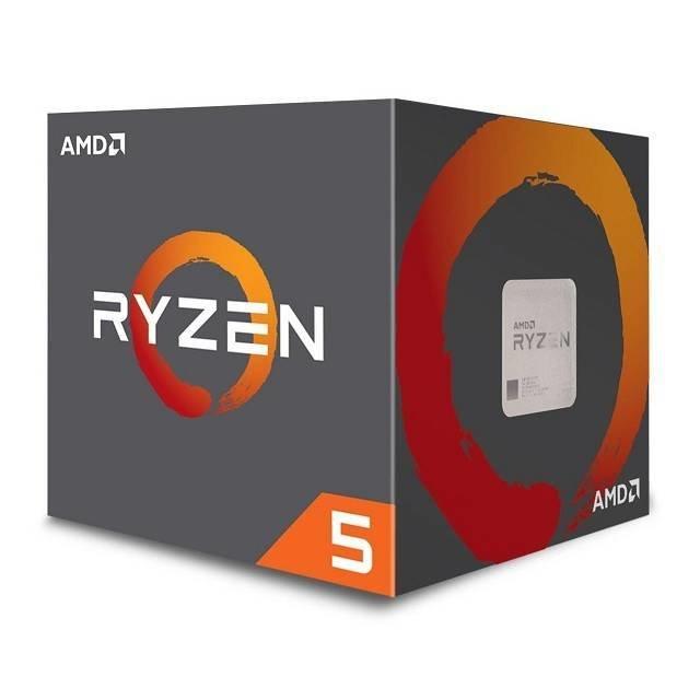 PROCESADOR AMD AM4 RYZEN 5 1600 QUAD-CORE 3.2GHZ MAX 3.6GHZ 6 CORE 12 THREAD 65W YD1600BBAEBOX