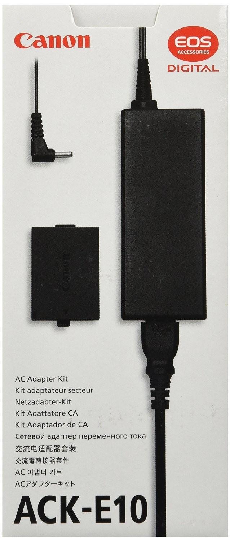 ADAPTADOR PODER CANON ACK-E10 PARA CAMARA EOS 5113B002