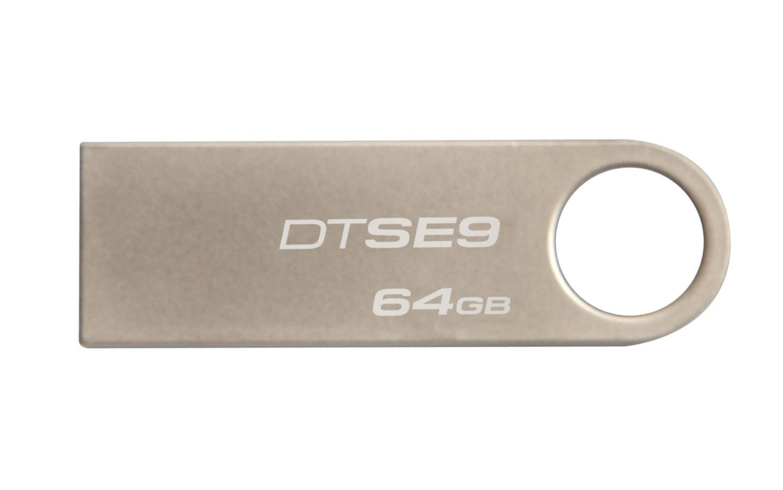 MEMORIA PEN DRIVE KINGSTON 64GB USB2.0 DATATRAVELER SE9 METAL DTSE9H/64GB