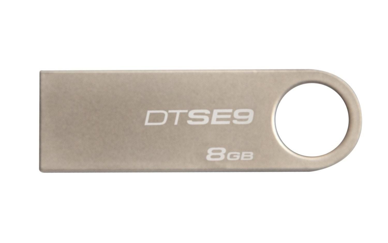 MEMORIA PEN DRIVE KINGSTON 8GB USB2.0 DATATRAVELER DT SE9 METAL DTSE9H/8GB
