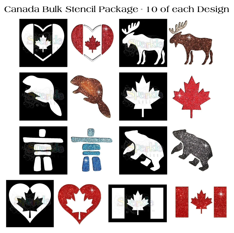 Bulk Canada Stencil Package