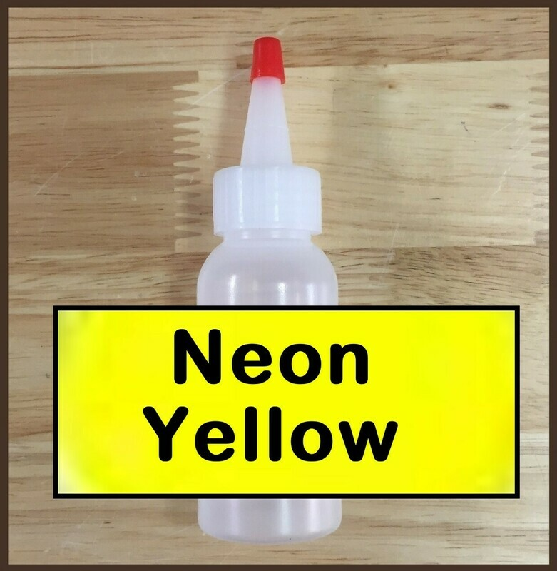 CLEARANCE! Neon Yellow Glitter Refill