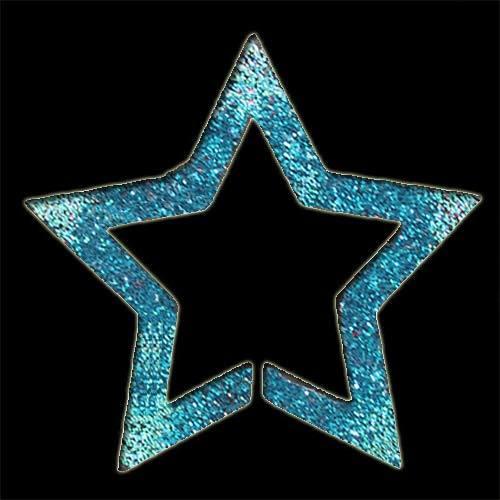 Star Frame Stencil