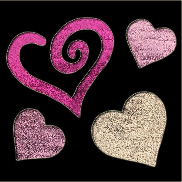 Large Heart Stencil