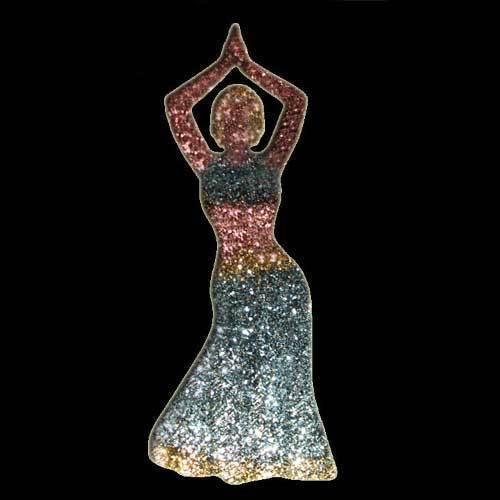 Belly Dancer Stencil