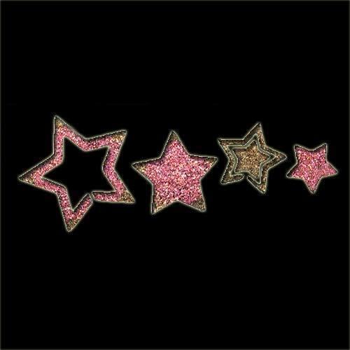 Star Trail Stencil
