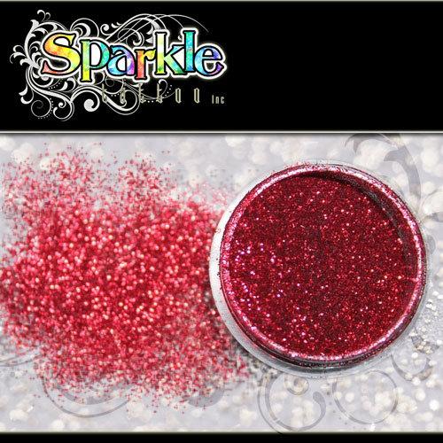 Regal Red Glitter