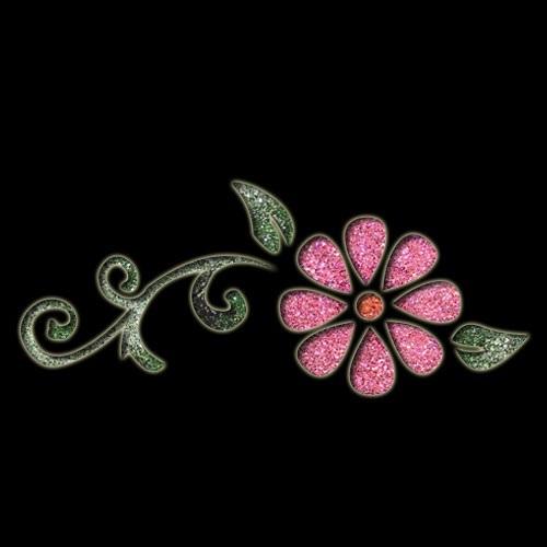 Floral Swirl Stencil