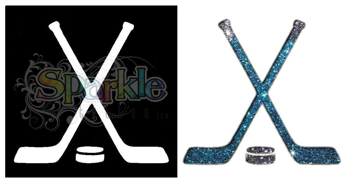 Hockey Stick Stencil