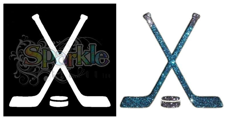 Hockey Stick Stencil
