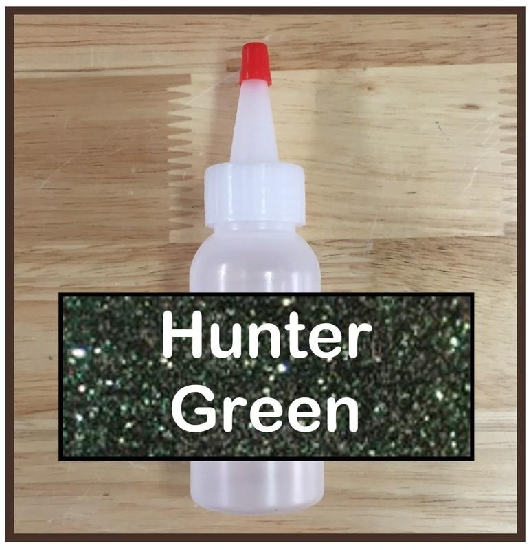 CLEARANCE! Hunter Green Glitter Refill