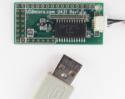 U431 USB LCD Interface w/cable