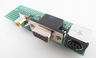 VGA/keyboard/composite adaptor for CGMMSTICK1