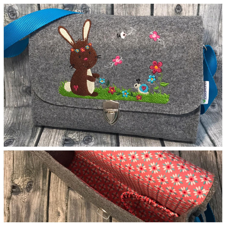 Filztasche Hase