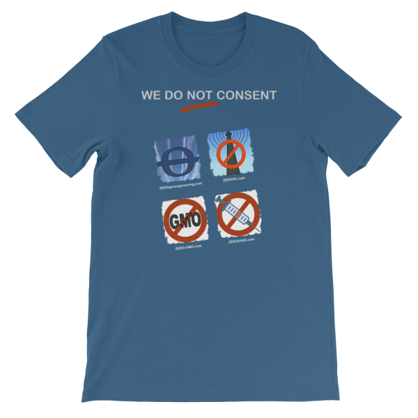 WE DO NOT CONSENT Z-sites 2x2 Short-Sleeve Unisex T-Shirt