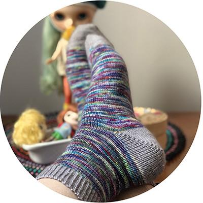 Knitting online course Let's sock together