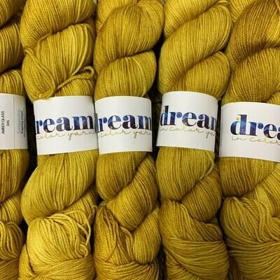 Dream in Color Yarn Amber Glass  smooshy sock