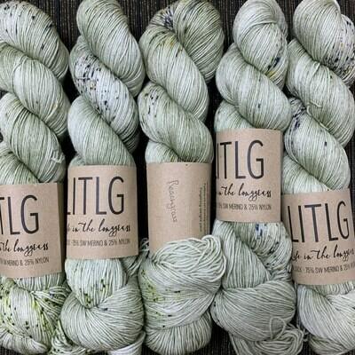 LITLG sock yarn Beachgrass