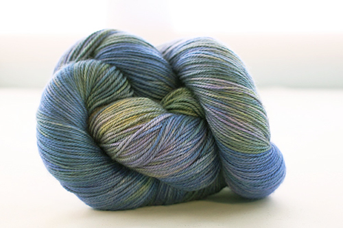 Dream in Color Smooshy Cashmere Blend Sock VC508 Violetta Verde