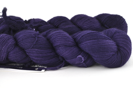 Malabrigo Hand dye Lace Yarn Purple Mystery #30