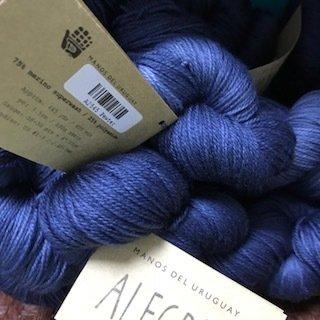 Manos Alegria Sock Yarn Pewter A2545