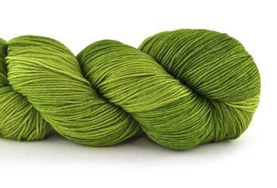 Malabrigo Sock Hand dye  Yarn Lettuce #37