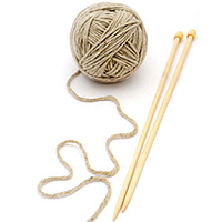 Knitting course playground workshop