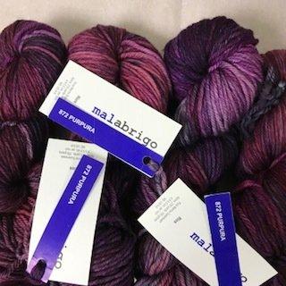 Malabrigo Rios Purpuras #872