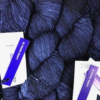 Malabrigo Hand dye Mechita Yarn Paris Night  #52