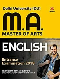Delhi University MA English Guide 2018
