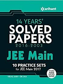 14 Years' Solved Paper (2016-2003) JEE Main