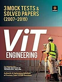 3 Mock Tests and Solved Papers for VIT Engineering