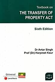 Textbook on The Transfer of Property Act 6th Edition