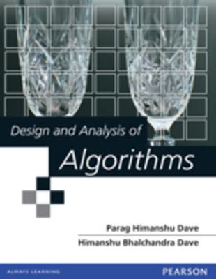 Design and Analysis Algorithms