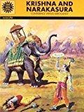 Krishna and Narakasura Amar Chitra Katha by Kamala Chandrakant
