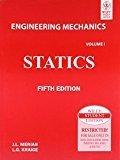 Engineering Mechanics Statics- Vol.1 by J.L Meriam