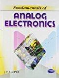 Fundamentals of Analog Electronics for MDU by J.B. Gupta