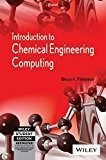 Introduction to Chemical Engineering Computing by Bruce A. Finlayson