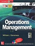 OPERATIONS MANAGEMENT WITH STUDENT DVD Special Indian Edition by William J Stevenson