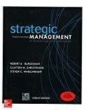 STRATEGIC MANAGEMENT OF TECHNOLOGY  INNOVATION by Robert Burgelman