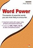 Word Power - Thousands of Essential Words You are Most Likely to Encounter by Nitin Sharma