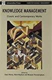Knowledge Management Classic and Contemporary Works MIT Press by Daryl Morey
