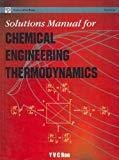 Solutions Manual for Chemical Engineering Thermodynamics by Y.V.C. Rao