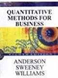 Quantitative Methods for Business  by Anderson| Pustakkosh.com