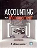 Accounting for Management by Vijaya Kumar