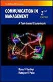 Communication in Management by Ranu Vanikar