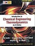 Introduction to Chemical Engineering Thermodynamics Special Indian Edition by J. M. Smith