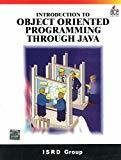 Introduction to Object Oriented Programming through Java by Isrd Group