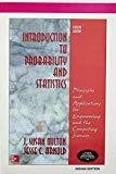 Introduction to Probability and Statistics Principles and Applications for Engineering and the Computing Sciences by J. Susan Milton