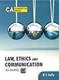 Law Ethics and Communication For CA - IPCC by B S Jolly